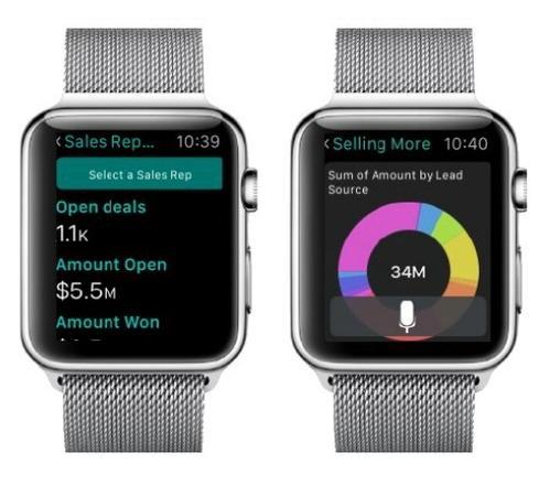 Apple Watch Salesforce