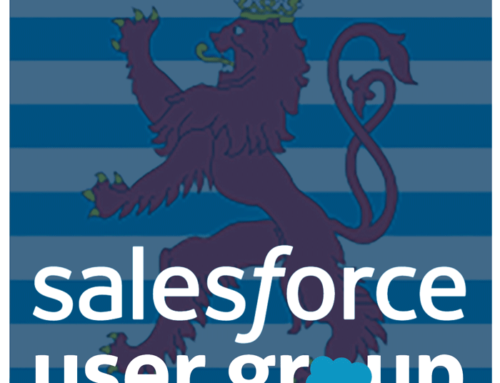 Luxembourg Salesforce User Group – October 2018