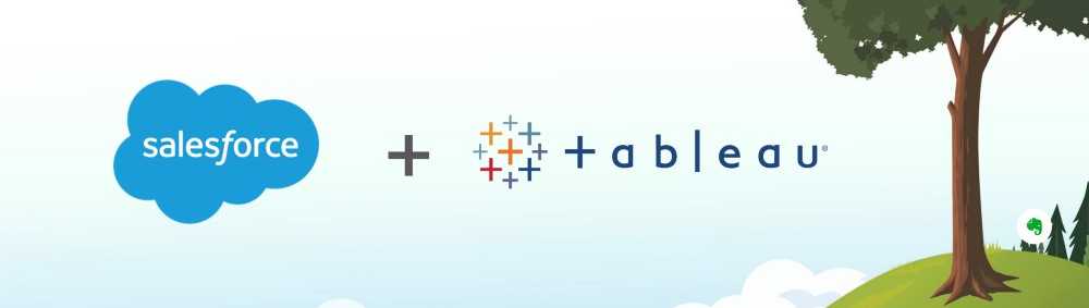 Salesforce and Tableau join forces for better analytics and AI predictions