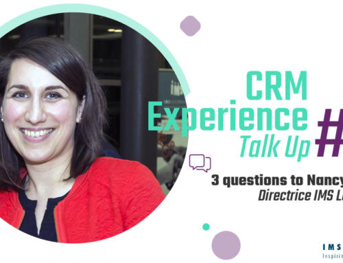 CRM Experience Talk Up : Nancy Thomas, Directrice IMS Luxembourg