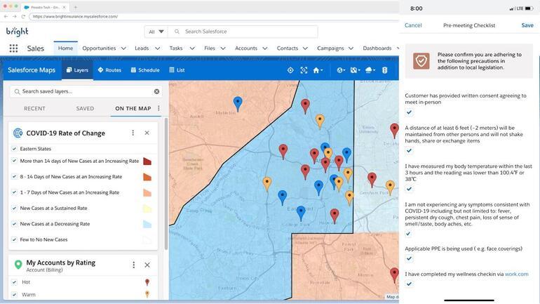 Salesforce Maps Field Safety Kit
