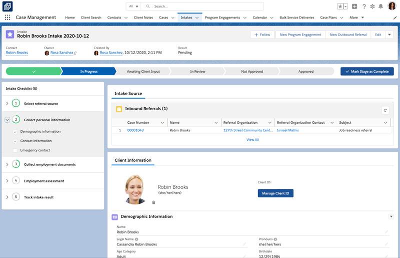 Salesforce Nonprofit NGO Winter Release Case Management