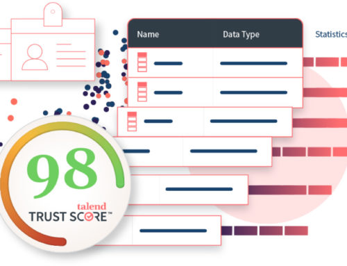 Talend Trust Score – To trust the health of your data