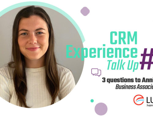 CRM Experience Talk Up : Annie Walsh, Business Associate, LuxFLAG