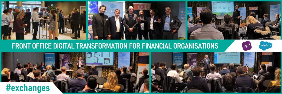 Front Office Digital Transformation for Financial Organisations