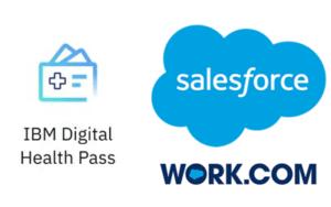 IBM Health Pass Salesforce Work