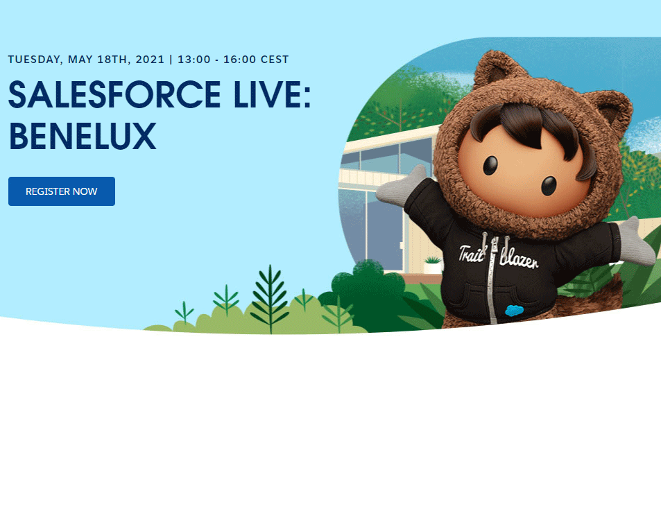 Salesforce Live Benelux May 2021