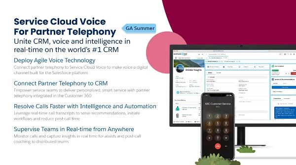 Service Cloud Voice Partner Telephony