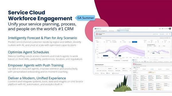 Service Cloud Workforce Engagement