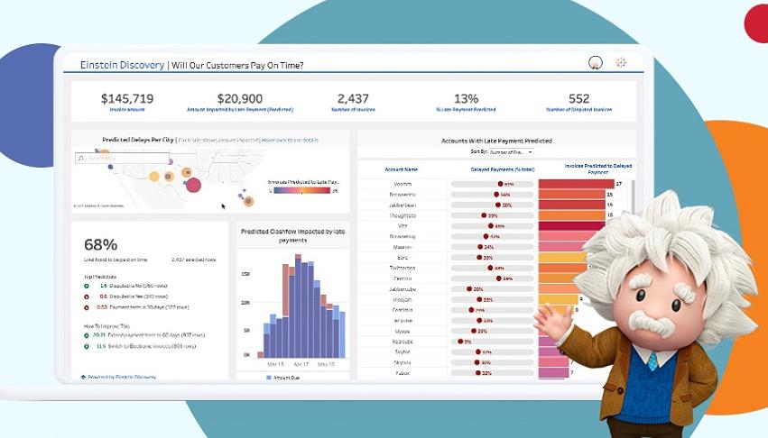 Tableau Salesforce Einstein Discovery