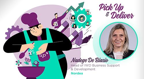 Nadege De Biasio, Head of IWD Business Support & Development, Nordea