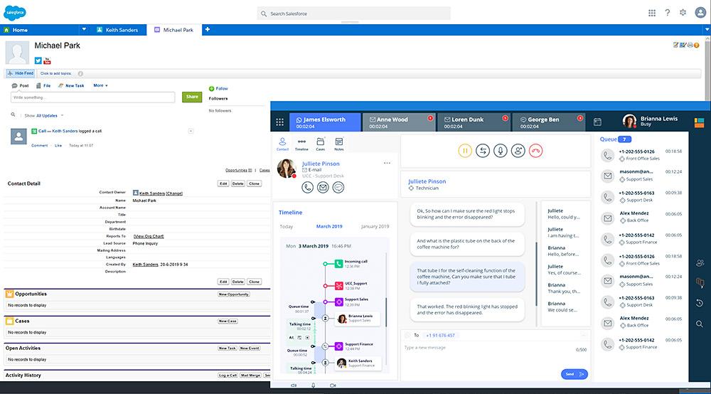 Salesforce Microsoft Teams