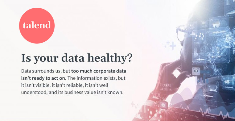 Talend is your data healthy